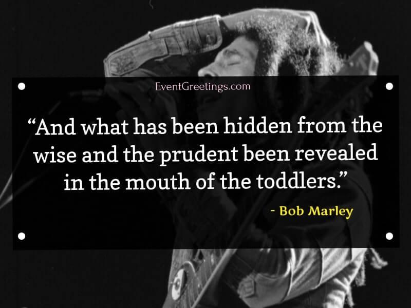 Bob Marley's Wisdom Quotes