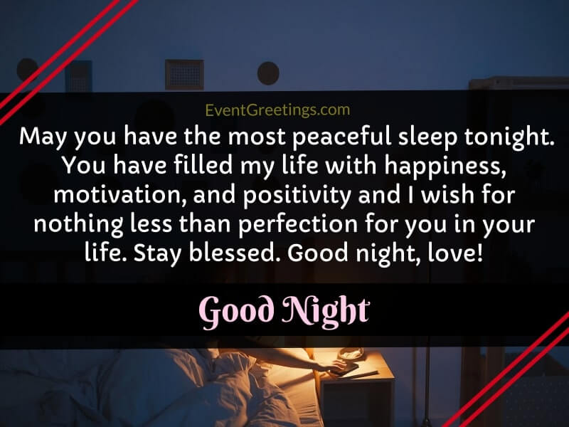 Cute Goodnight Paragraphs For Her