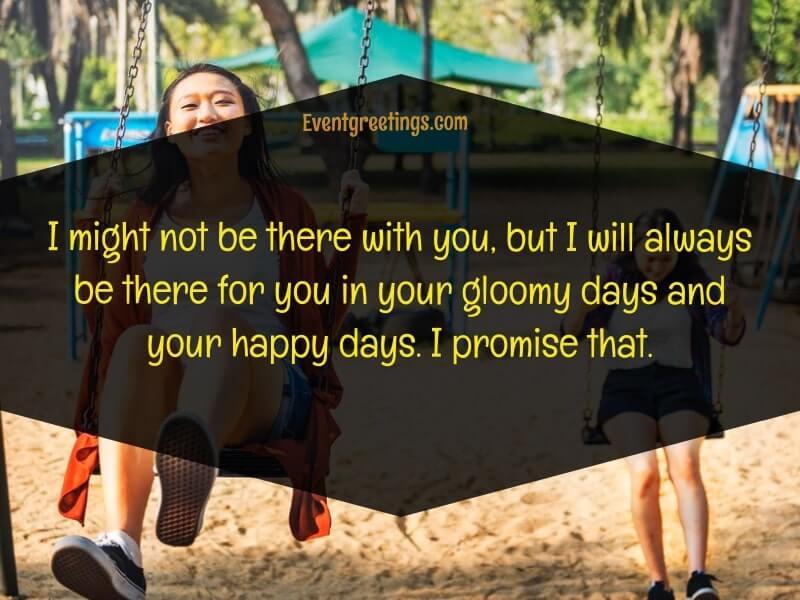 Distance friendship quotes