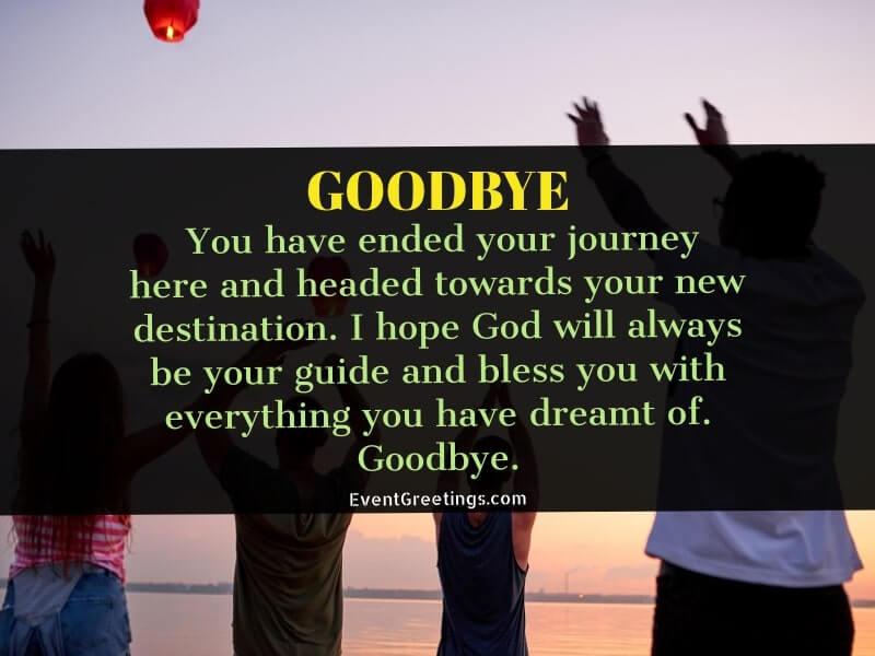 heartfelt good bye quotes