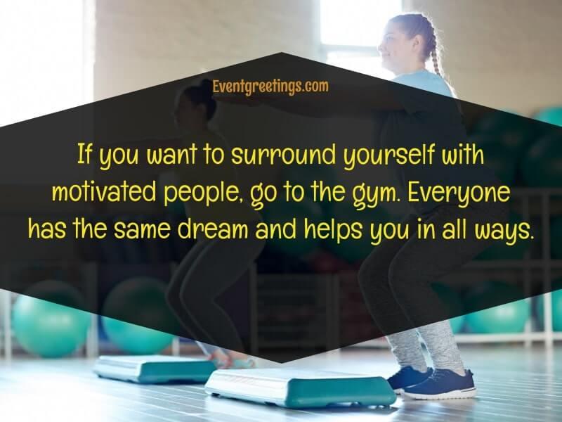 Gym motivation quotes