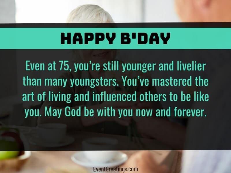 Happy 75th Birthday Images