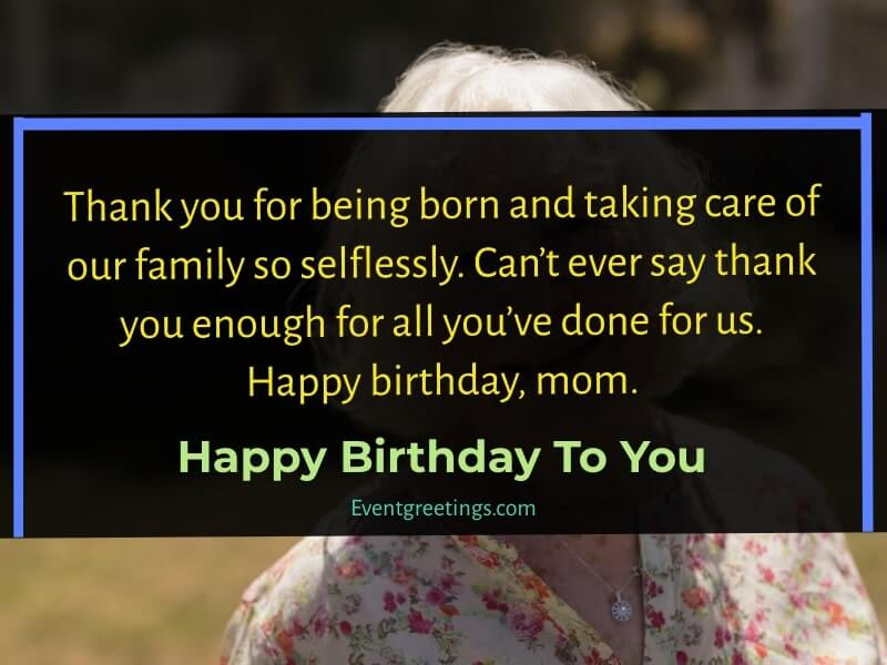 Happy 75th Birthday Mom