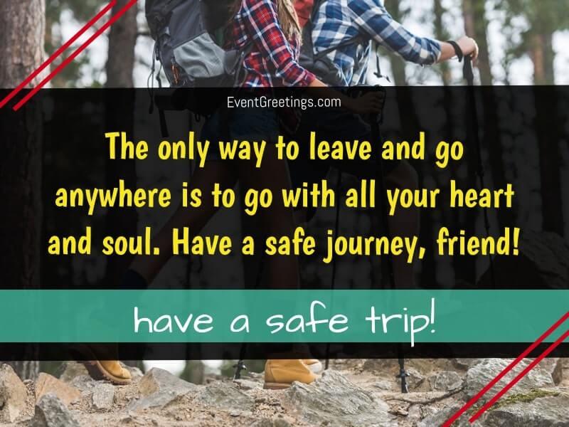 Have a Safe Journey