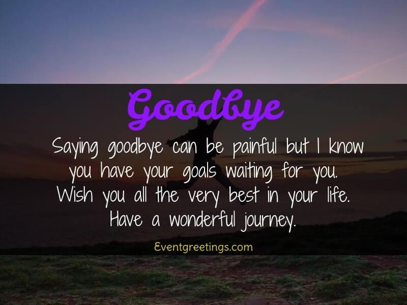 Sad Goodbye Quotes