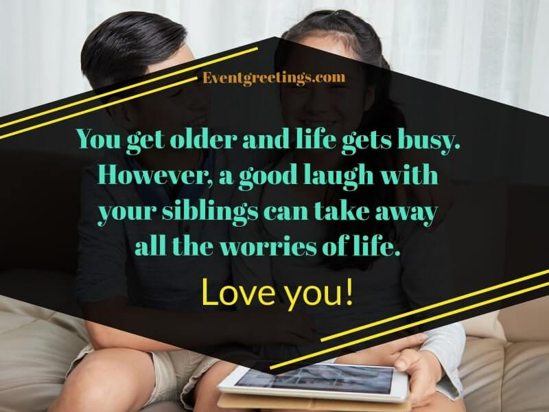 Siblings Quotes