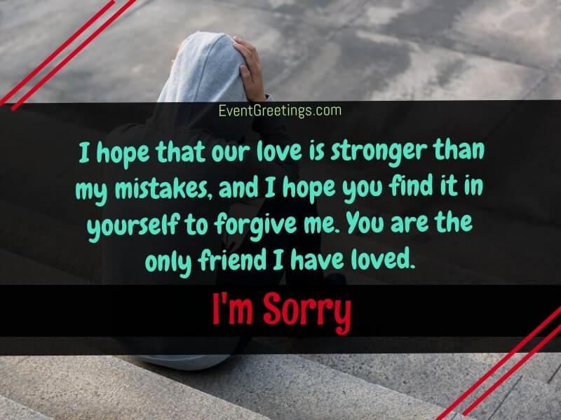 sorry-friend