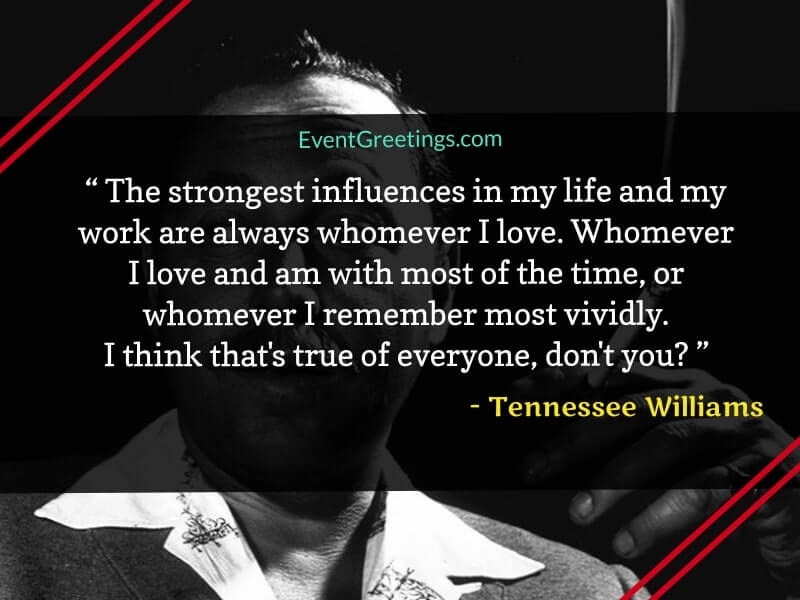 tennessee williams quotes about life