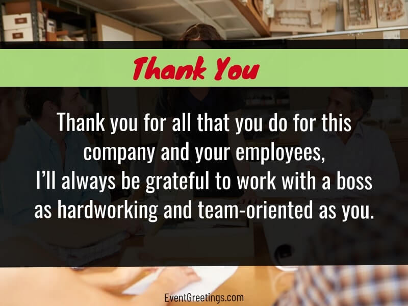 Appreciation Quotes for Boss