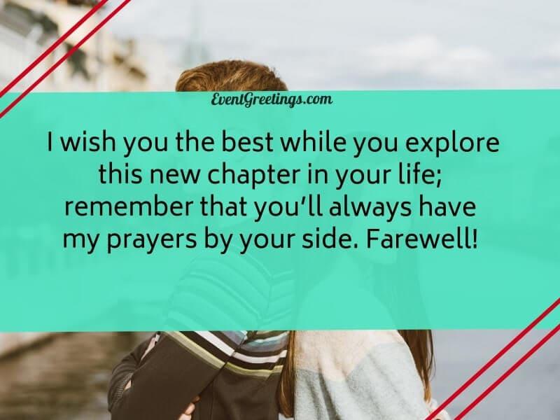 Farewell-Messages