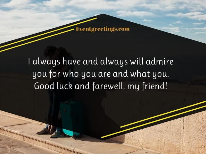 Farewell Messages