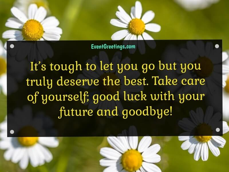 Farewell Wishes