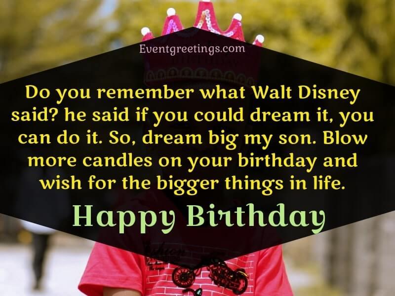 Happy 7th Birthday Son