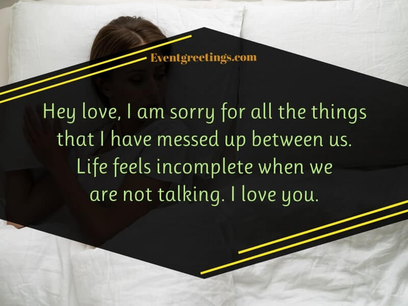 Sorry Quotes for Husband