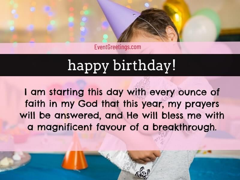 Thanking God For Another Birthday