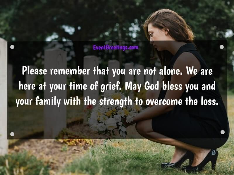 condolences text messages