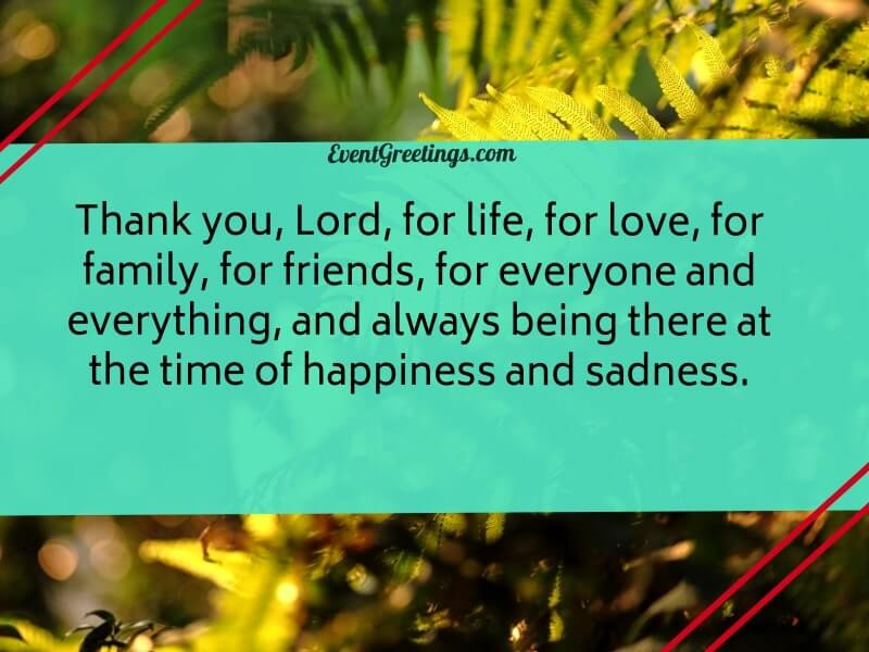 thanks you lord quote