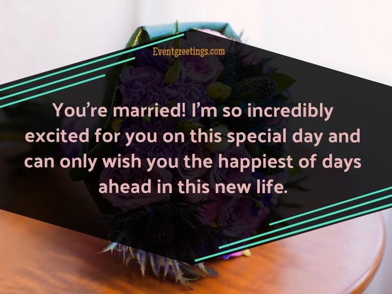 Wedding Message for Friend