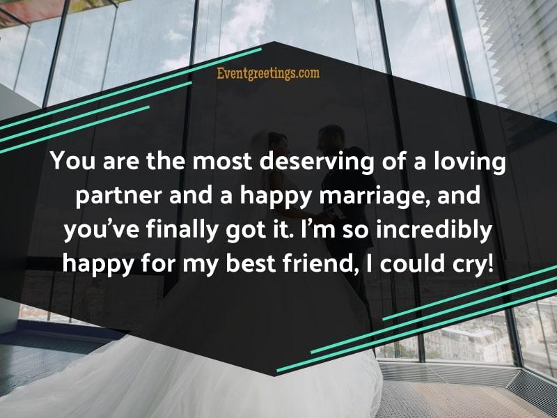 Wedding Wishes for Best Friend