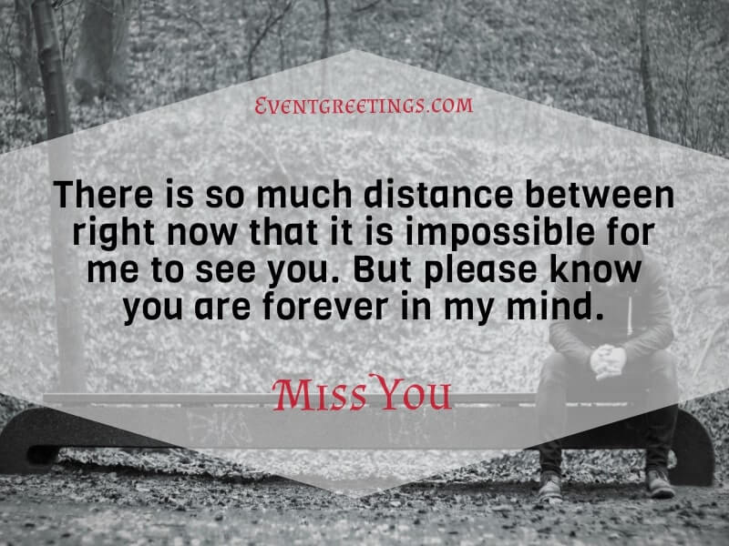 I Miss My Wife Message