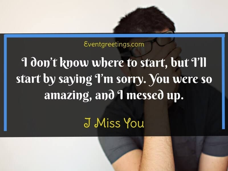 I Miss My Ex Wife Quotes