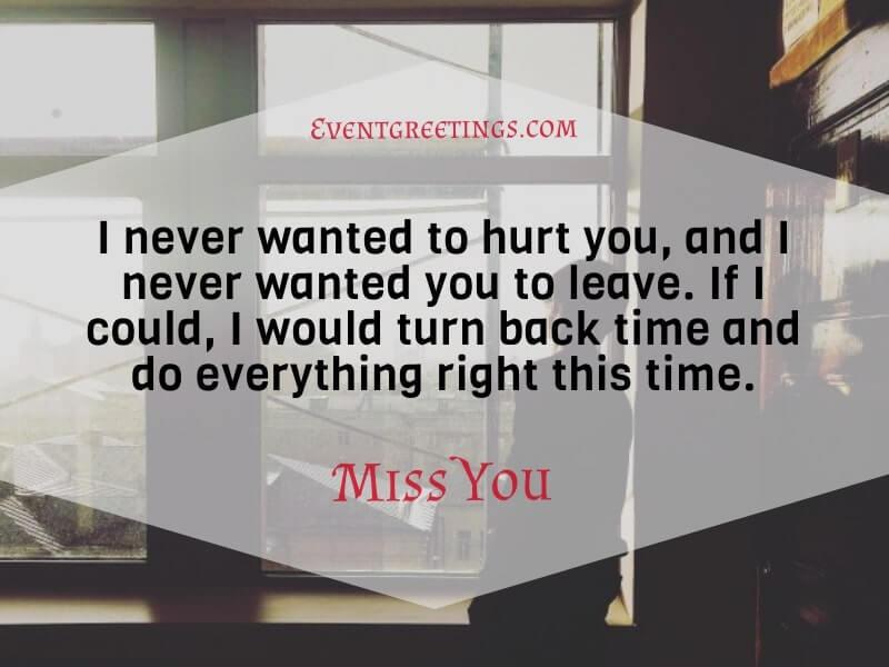 I Miss My Ex Wife