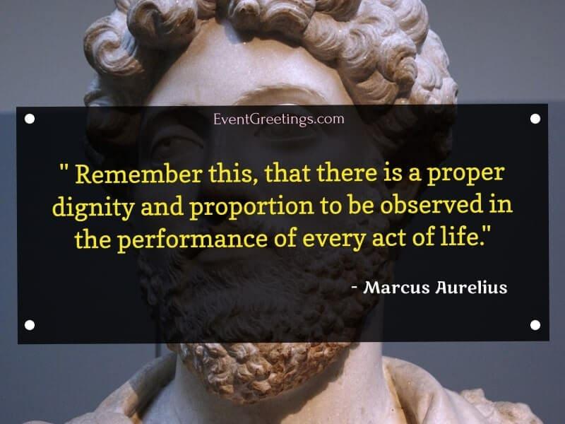 Marcus Aurelius's Inspirational Quotes