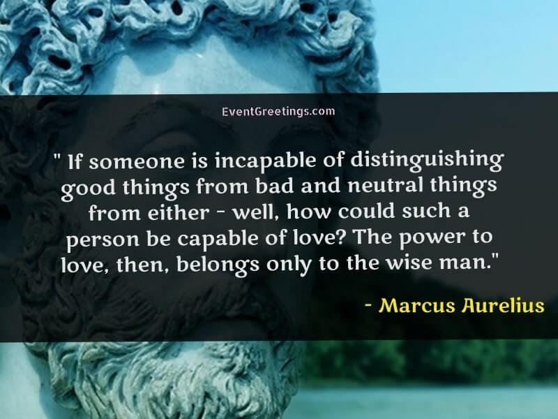 Love Quotes by Marcus Aurelius
