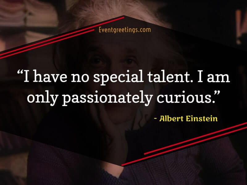Albert Einstein's Famous Quotes
