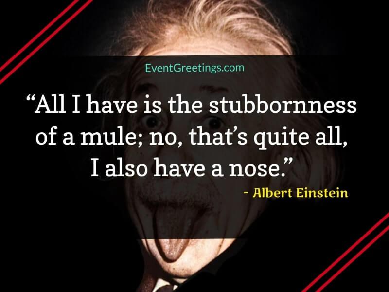 Albert Einstein's Funny Quotes