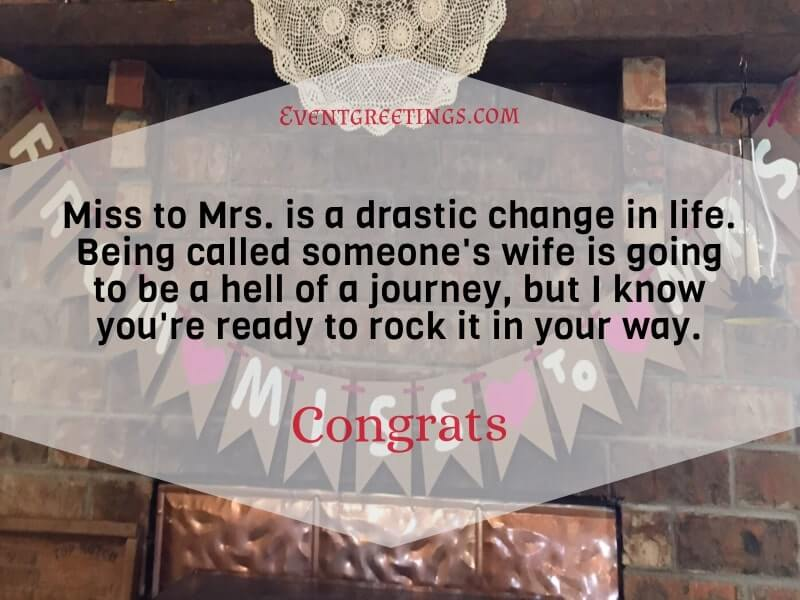 bridal shower quote