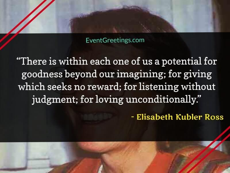 Love Quotes by Elisabeth Kubler Ross